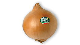 Selected golden onion